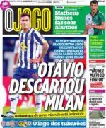 Capas Jornais Desportivos 18-03-2021
