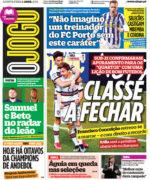 Capas Jornais Desportivos 01-04-2021