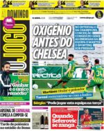 Capas Jornais Desportivos 11-04-2021