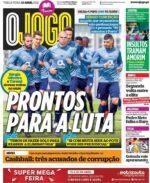 Capas Jornais Desportivos 13-04-2021
