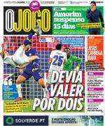 Capas Jornais Desportivos 14-04-2021