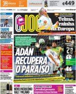Capas Jornais Desportivos 17-04-2021
