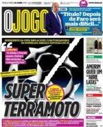 Capas Jornais Desportivos 20-04-2021