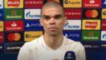 """VIDEO: Pepe não falou na """"flash"""" por causa do barulho"""