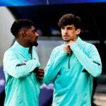 Thierry Correia e Trincão estão fora do Euro devido a Covid