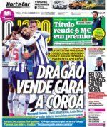 Capas Jornais Desportivos 11-05-2021