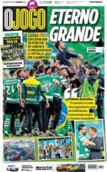 Capas Jornais Desportivos 12-05-2021