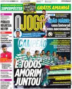 Capas Jornais Desportivos 13-05-2021