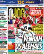 Capas Jornais Desportivos 04-06-2021
