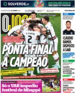 Capas Jornais Desportivos 16-06-2021