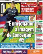 Capas Jornais Desportivos 18-06-2021
