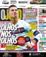 Capas Jornais Desportivos 19-06-2021