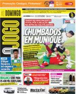 Capas Jornais Desportivos 20-06-2021