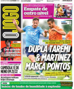 Capas Jornais Desportivos 22-07-2021