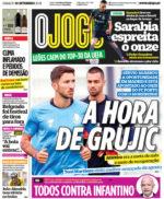 Capas Jornais Desportivos 18-09-2021