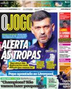 Capas Jornais Desportivos 24-09-2021