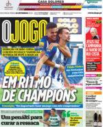Capas Jornais Desportivos 20-09-2021