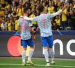 VIDEO: Assistência brilhante de Bruno Fernandes e golo de Ronaldo