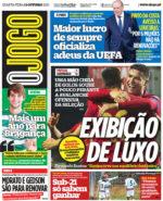 Capas Jornais Desportivos 13-10-2021