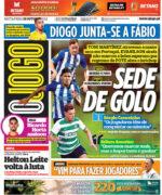 Capas Jornais Desportivos 15-10-2021
