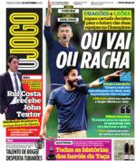 Capas Jornais Desportivos 19-10-2021