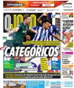 Capas Jornais Desportivos 20-10-2021