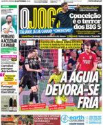 Capas Jornais Desportivos 21-10-2021