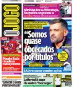 Capas Jornais Desportivos 26-10-2021