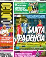 Capas Jornais Desportivos 27-10-2021