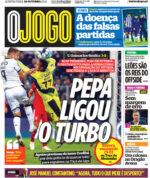 Capas Jornais Desportivos 28-10-2021